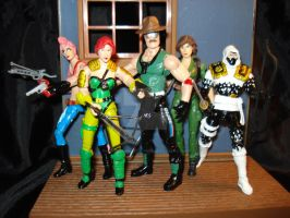 other 25th anniv G.i. joes by hunterknightcustoms