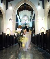 Lovely but lonely wedding by agosbeatle