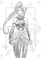 Psylocke ReDesign Idea 1 by ZhaxRa