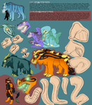 WildBeests and WilderBeests Ref (Open and Closed) by Maystrine