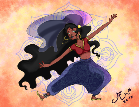Indian Dance by arinadream