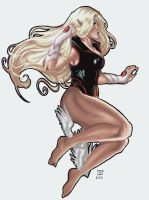 marvel: bow to me by ylchen