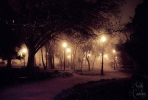 walk of light by Andythesith
