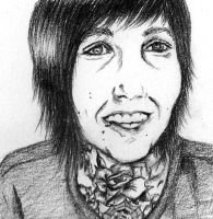 Oliver Sykes by Tropical-Rain