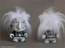 Munny Albert Einstein by artmik