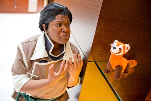 WHY YOU NO DO THE THING!!!! - The Legend of Korra by roxastuskiomi