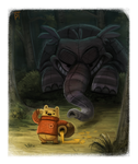 Sketch Dailies Challenge - Heffalump by Cryptid-Creations