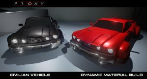 PROXY Game - Civilian Vehicles by EvilOverseer