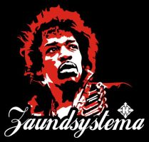 jimmy hendrix by soundsystema