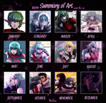 Art summary 2014 by rayn44