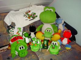 My sweet Yoshi collection by GreenYoshi25