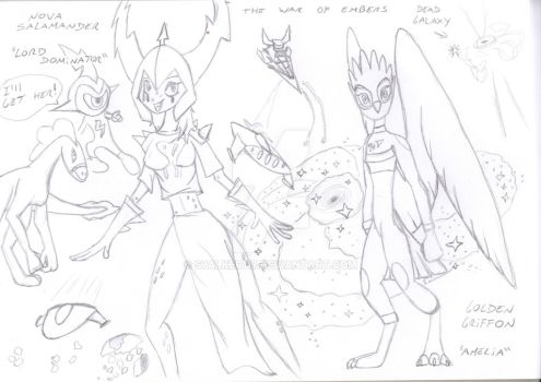 Wander Over Yonder Sketches - Embers by S7alker117