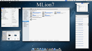 mLion7 vs for windows 7 preview by RaymonVisual
