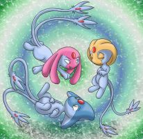 Psychic Trio by Tikara-the-Mew