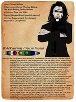 Creepypasta Journal Entry: Father Malone by MrAngryDog
