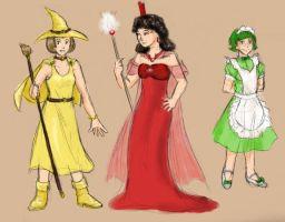 Emeralds - Characters II by ErinPtah