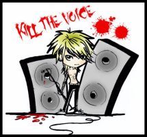 Kill the voice by Goth-Virgy