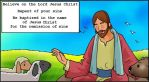 Short and to the point Gospel Message in English by CollectivistComics