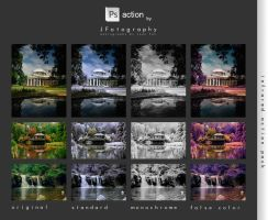 Infrared Effect Action Pack by JeanFan