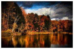 Fall canvas by RockRiderZ