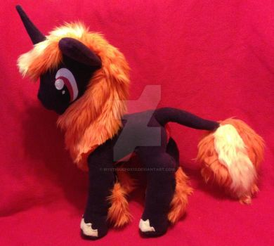 MLP Custom Plush OC Figment Commission by mystiquefox13