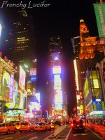 Times Square in NY by HLea33