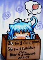Help a starving artist!!! (ALL SLOTS FILLED) by RaelXArts