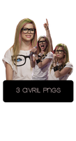 Avril Png Pack by TerriusCandy