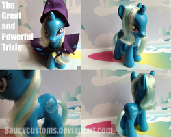 The Great and Powerful Trixie Custom Pony 2 by saucycustoms