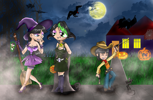 Halloween was approaching by MissKorija