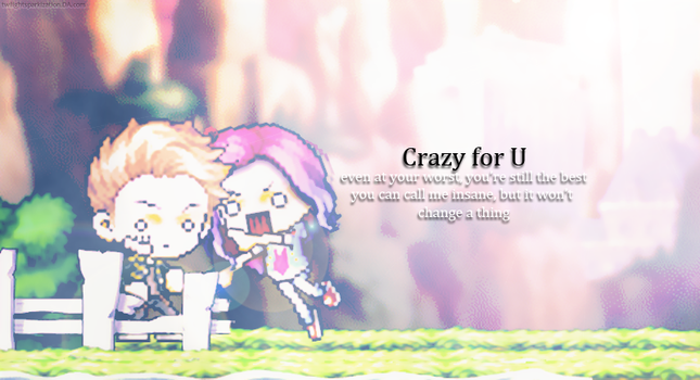 Crazy for U by twilightsparkization