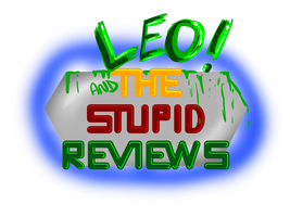 LEO and The Stupid Reviews Logo Design by ralphbear