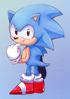 Classic Sanic (Collab) by ProBOOM