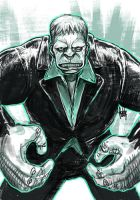 Daily Sketches Solomon Grundy by fedde
