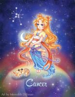 Aurascopes kickstarter - Chibi Cancer Zodiac by MeredithDillman