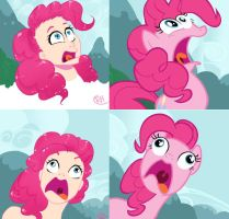 PINKIE GOES WHOHUEHUEHUE by rrred