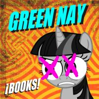 Green Nay Books Cover by Stratolicious