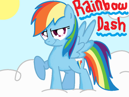MLP: Rainbowdash by LilyLuPony