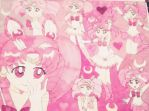 Chibi Moon Collage by Destiny1234567