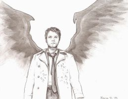 Castiel -Supernatural by SpookCake