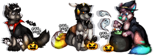 Never too soon for Halloween by Ghoul-catcher