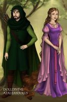 Robin Hood and Maid Marian by Kailie2122