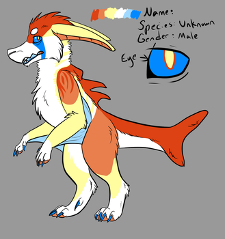 New Character! :D by wolfie115