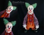 My first creepy clown by polinatur93
