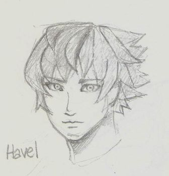Quick Sketch - Havel Khevah by BunnyVoid