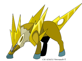 Fakemon Toirneach by Phatmon
