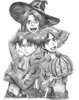 Shingeki no Halloween [HAPPY HALLOWEEN] by kerushiidesu