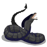 Egg Hatched - Xeno Snake by ShadowInkAdopts