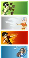 ATLA: The Elementals Poster by Asterismo