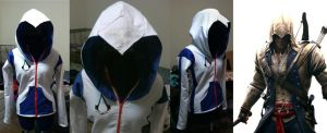 Assassin's Creed Connor Hoodie by RougeLeaderRed